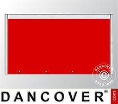 Giebelwand UNICO 3m, Rot