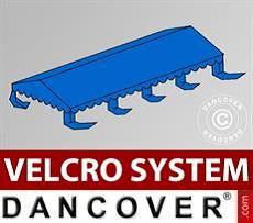 Dachplane für Partyzelt UNICO, PVC/Polyester, 5x8m, blau
