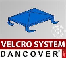 Dachplane für Partyzelt UNICO, PVC/Polyester, 3x3m, blau