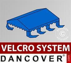 Dachplane für Partyzelt UNICO, PVC/Polyester, 3x6m, blau