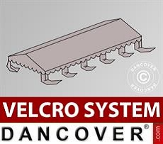 Dachplane für Partyzelt UNICO, PVC/Polyester, 5x10m, sandfarben