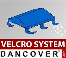 Dachplane für Partyzelt UNICO, PVC/Polyester, 4x4m, blau