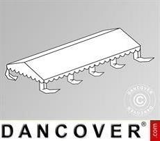 Dachplane für das Partyzelt Original 6x8m PVC, Weiß