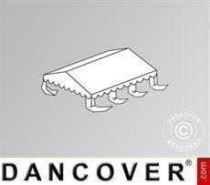 Dachplane für das Partyzelt Original 3x6m PVC, Weiß