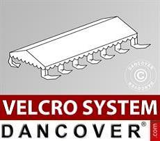 Dachplane für Partyzelt UNICO, PVC/Polyester, 5x10m, weiß