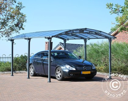 Marquesinas para coche y cubiertas para patio - protección ligera y elegante