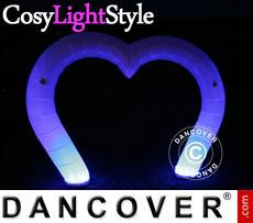Luz hinchable, LED, Corazón
