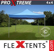Carpa plegable FleXtents Xtreme 4x4m Azul