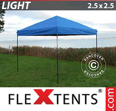 Carpa plegable FleXtents Light 2,5x2,5m Azul