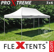 Carpa plegable FleXtents Xtreme 3x6m Blanco