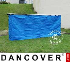Panel lateral para mostrador de FleXtents PRO, 3m, Azul