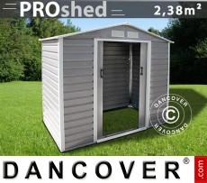 Casetas de jardín 2,13x1,27x1,90m ProShed, Gris/Marrón