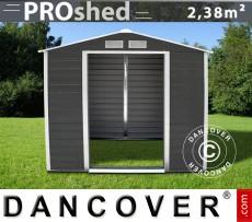 Caseta de jardin 2,13x1,27x1,90m ProShed, Antracita