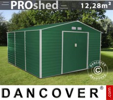 Caseta de jardin 3,4x3,82x2,05m ProShed Verde