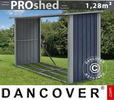 Unidad de almacenamiento de madera ProShed 1,82x0,89x1,56m, Antracita