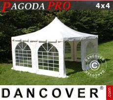 Carpa para fiestas Pagoda PRO 4x4m, PVC