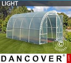 Invernadero túnel Light 2,2x4x1,9m, Traslúcido
