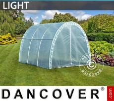 Invernadero túnel Light 2,2x3x1,9m, Traslúcido
