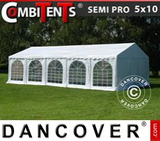 Carpa para fiestas, SEMI PRO Plus CombiTents® 5x10m, 3 en 1
