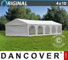 Carpa para fiestas Original 4x10m PVC, Blanco