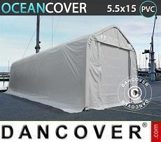 Carpas de almacén Oceancover 5,5x15x4,1x5,3m, PVC