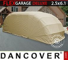 Garaje plegable (para coche), ECO, 2,5x6,1x2m, beis