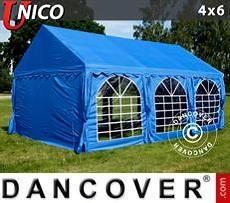 Carpas para fiestas UNICO 4x6m, Azul