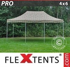 Carpa plegable FleXtents PRO 4x6m Camuflaje