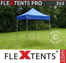 Carpa plegable FleXtents PRO 2x2m Azul