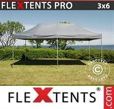 Carpa plegable FleXtents PRO 3x6m Gris
