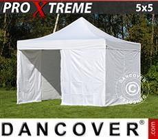 Flextents Carpas Eventos Xtreme 5x5m Blanco, Incl. 4 lados