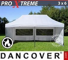 Flextents Carpas Eventos Xtreme 3x6m Blanco, Incl. 6 lados