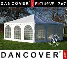 Pagoda Partyzone 7x7m PVC, Blanco