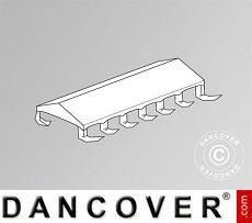 Cubierta para el techo para Carpa para fiesta Exclusive 6x12m PVC,