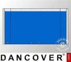 Muro hastial UNICO 3m con puerta amplia, Azul