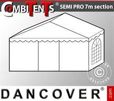 Extensión de tramo final de 2m para CombiTent® Semi PRO, 7x2m, PVC,