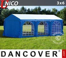 Carpa para fiestas UNICO 3x6m, Azul