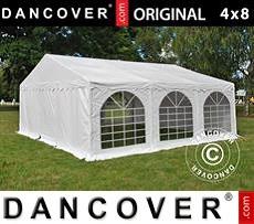 Carpa para fiestas 6x6m PVC, Blanco