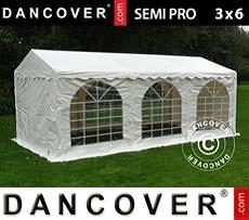 Carpa para fiestas 3x6m PVC, Blanco