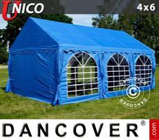 Carpa para fiestas UNICO 4x6m, Azul