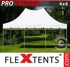 Carpa plegable FleXtents 4x6m Blanco