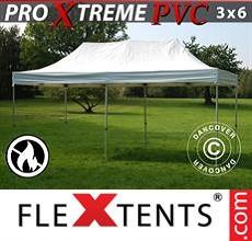 Carpa plegable FleXtents 3x6m, Blanco
