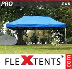 Carpa plegable FleXtents 3x6m Azul