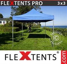 Carpa plegable FleXtents 3x3m Azul