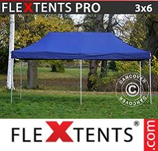 Carpa plegable FleXtents 3x6m Azul oscuro