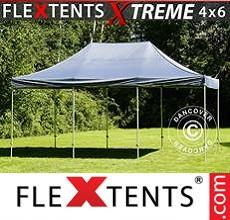 Carpa plegable FleXtents 4x6m Gris