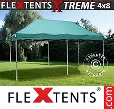 Carpa plegable FleXtents 4x8m Verde