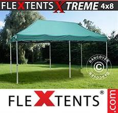 Carpa plegable FleXtents 4x8m Verde