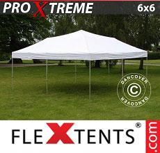 Carpa plegable FleXtents 6x6m Blanco