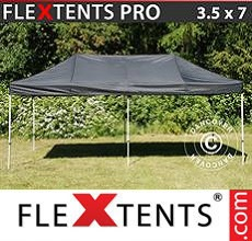 Carpa plegable FleXtents 3,5x7m Negro
